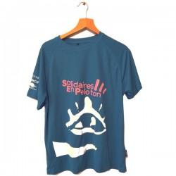T-Shirt homme bleu