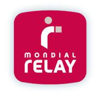 Livraison en 24-48h en point relais avec MONDIAL RELAY